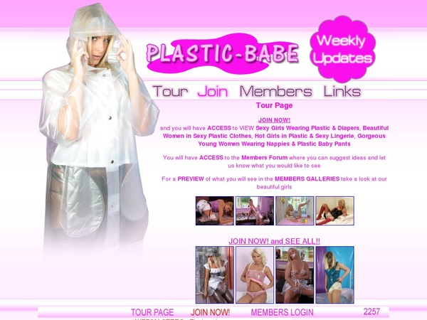 Pay For Plastic Babe