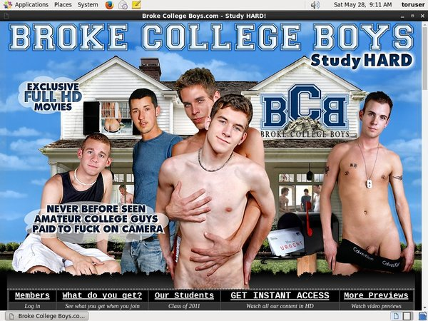 Brokecollegeboys Account Blog